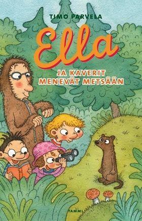 Ella ja kaverit menevät metsään on kesäinen luontoseikkailu, josta ei vauhtia ja vinkeitä tilanteita puutu.