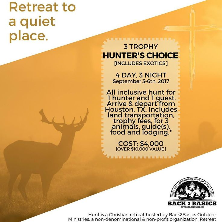 Eager to get some quite time in the stand with just you, God, and mother nature?  Ready for the hunt of a lifetime? Reserve your spot here: https://back2basicsom.com/programs/texas-hunting-retreat/ . . . . . . #retreat #hunting #hunt #biggame #exotics #deer #axis #texas #trophyroom #christian #drawnear #god #nature #riflehunting #bowhunting #hunter #hunters #ladyhunter #venison #meateater #ministry #quiettime #alonetime #trophies #back2basics #bigbuck #bigbucks…
