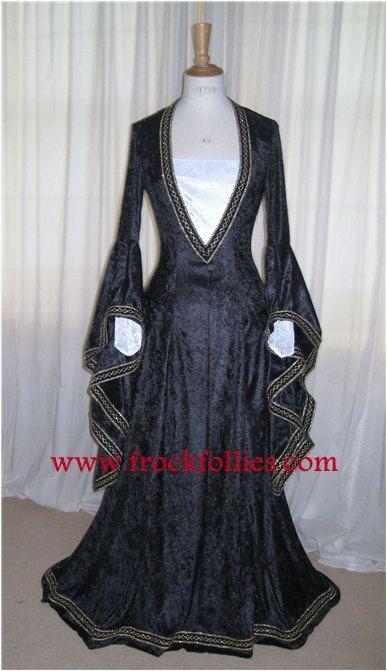 Eleanor a Medieval Renaissance Pagan Custom Made by frockfollies, $281.00