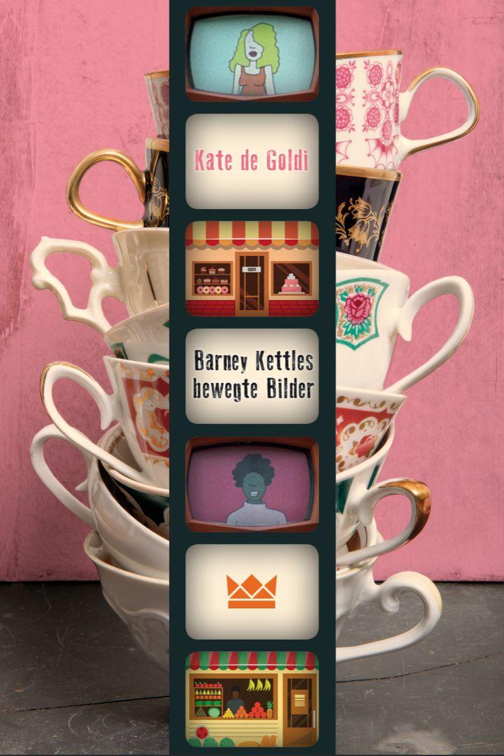 Kate de Goldi, Barney Kettles bewegte Bilder, Königskinder Verlag, Coverdesign: © Suse Kopp, Buchgestaltung