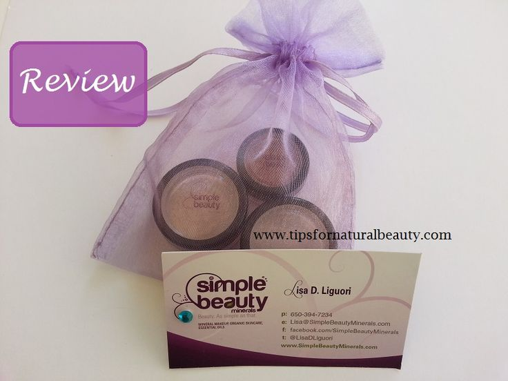 Simple Beauty Minerals Makeup Review #mineralmakeup #mineralfoundation