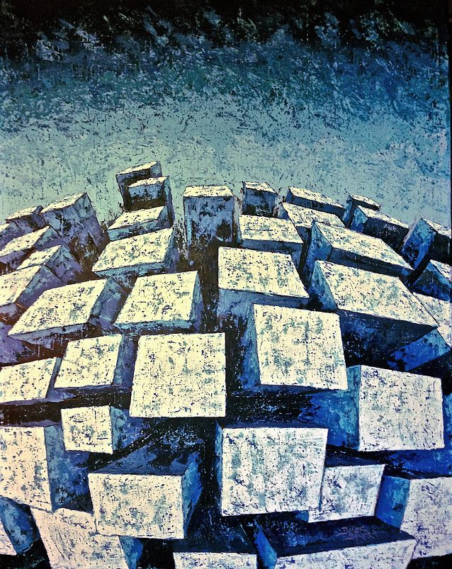 Jacek Sikora ( #Siccora ) QUIET CITY 2015, Acrylic on canvas, 100 x 80 cm #art #contemporary #fineart #canvas #abstract #abstractart #abstractpainting #abstraction #painting #contemporaryart #deep #design #loveart #visualartist #modern #buyart #abstract #impression