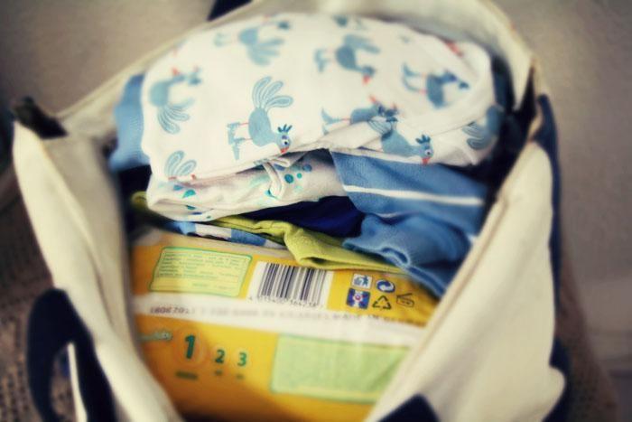 Att packa i BB-väskan