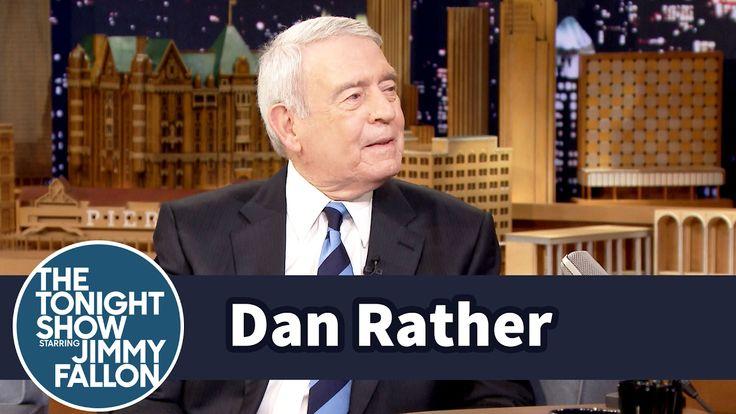 Jimmy Fallon Interviews Dan Rather About Facebook and Donald Trump