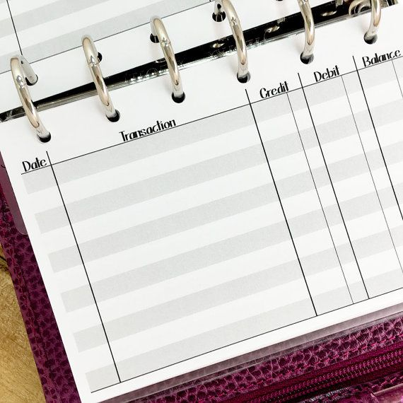 Best 25+ Checkbook register ideas on Pinterest Check register - printable check register