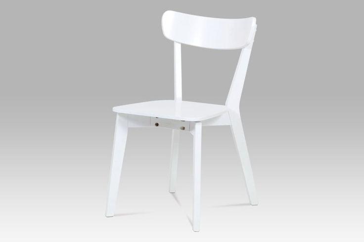 Stolička AUC-008 WT, biela