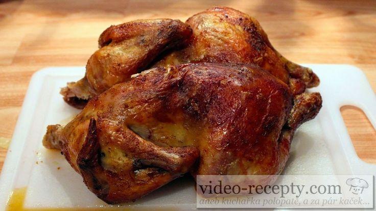 Toto kuře je velmi jednoduché a přesto je výsledek stejný jako z profesionálního grilu.