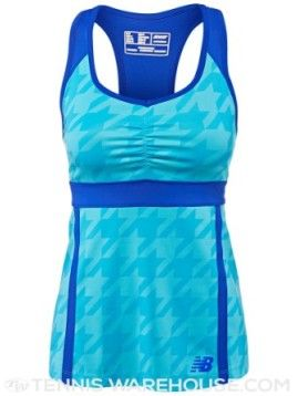 Heather Watson's blue New Balance top