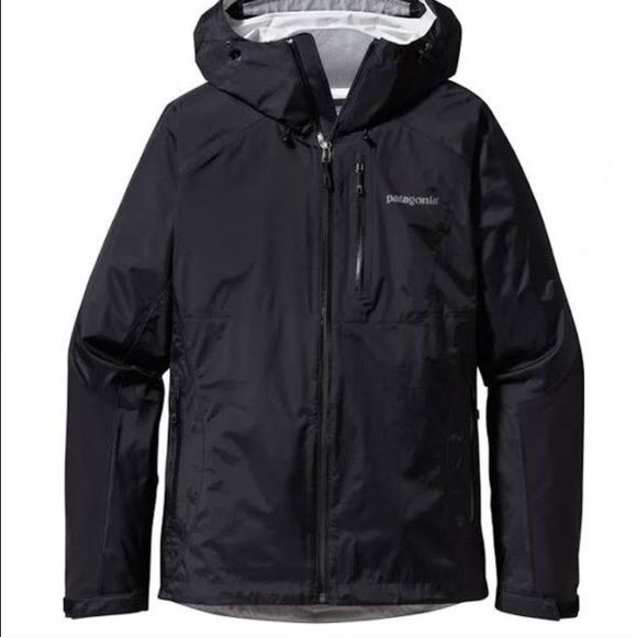 Patagonia Torrentshell Rain Jacket Black. Worn twice, is in new condition! Love this jacket, just have too many! My price is firm, except through pal or Mercarii. Also, no trades unless for hooded north face Denali in black. Patagonia Jackets & Coats