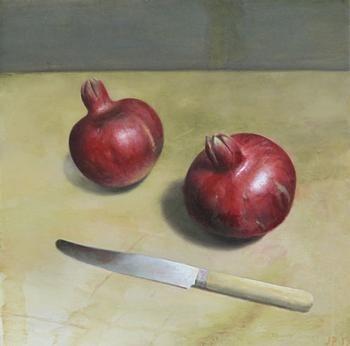 Cumberland Gallery Jim  Phalen Two Pomegranates