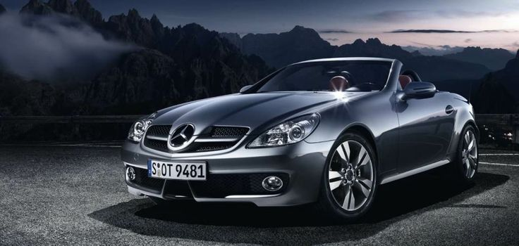 Next up on my bucket list:  Mercedes SLK Roadser convertible - my reward for reaching mid-life :)