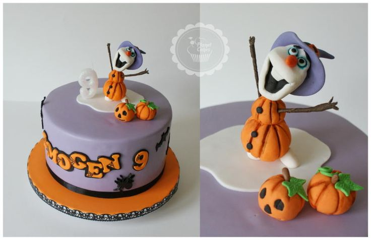 Halloween Olaf by Planet Cakes
