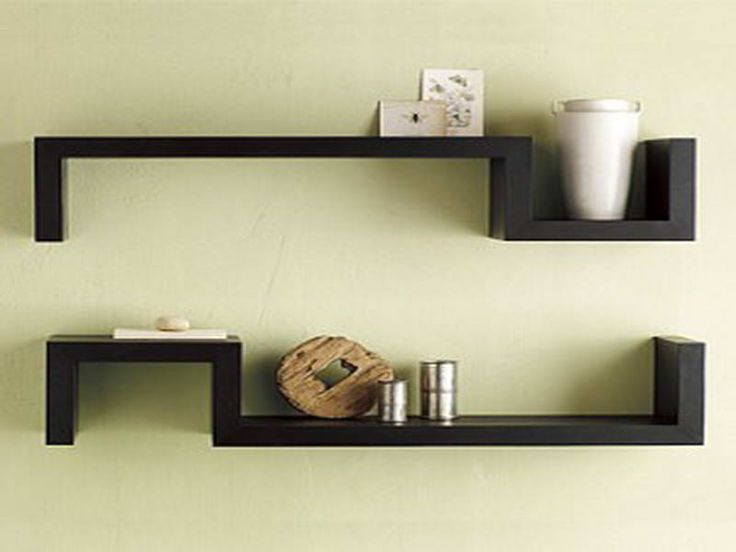 black wall shelves with symetrized designhttpbloombetycomblack wall - Wall Shelves Design