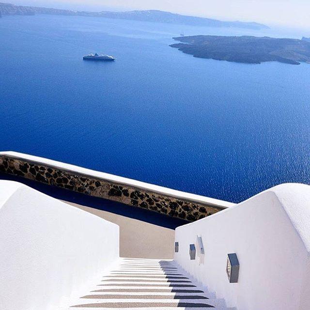 Amazing View from Santorini island