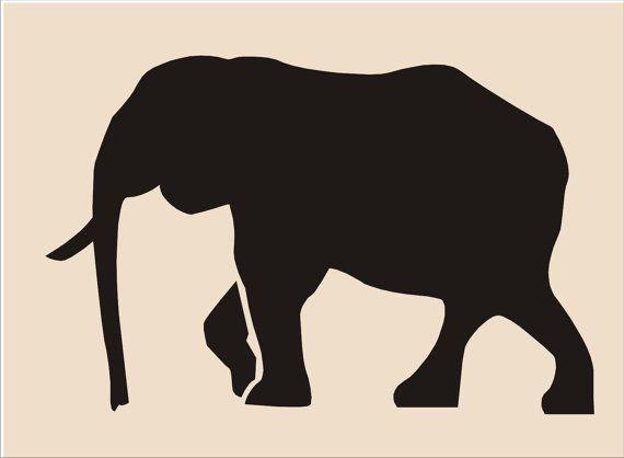 Elephant Stencil T Shirt Art Pinterest Elephant