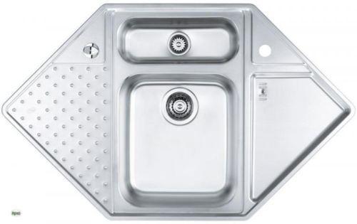 Einbauspuele-Edelstahl-Vision-40-Eckspuele-Spuele-fuer-Eckschrank-90x90cm-1085965-A