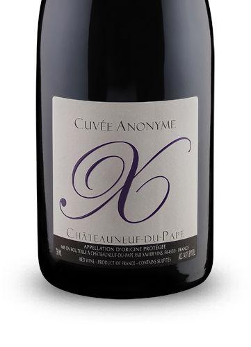 xavier vins chteauneuf du pape cuve anonyme 2009 - Kchen Mit Weien Schrnken Und Arbeitsplatten Aus Granit