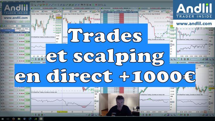 Scalping sur niveaux supports : FAQ Vidéos Bourse https://www.andlil.com/forum/scalping-sur-niveaux-supports-t17113.html Quelques scalps filmés hier sur le future dax 30 et #cac40