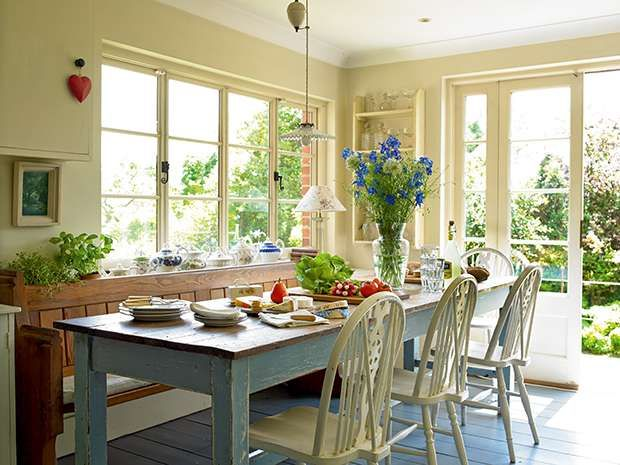 Sarah Dubois and Nigel Philips have breathed new life into a late Victorian house, and filled it with inherited and collected treasures.