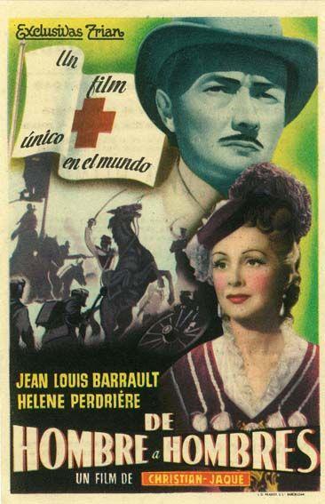 """De hombre a hombres (1948) """"D'homme à hommes"""" de Christian-Jaque - tt0125054"""