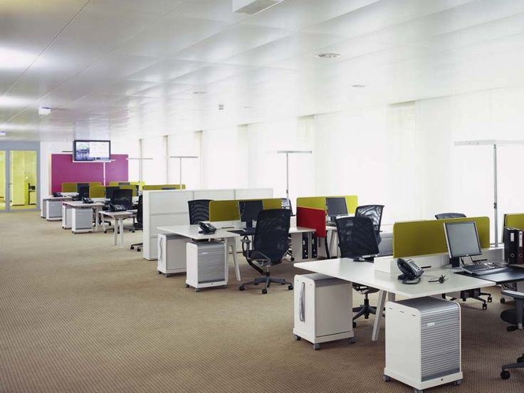 The Open Space is a classic openplan office, where a