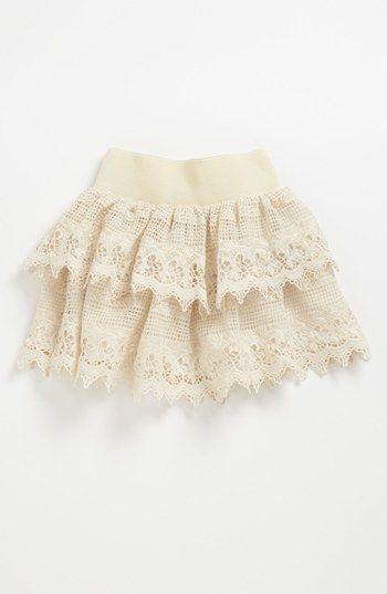 Un Deux Trois Crochet Ruffle Skirt (Big Girls) | Nordstrom