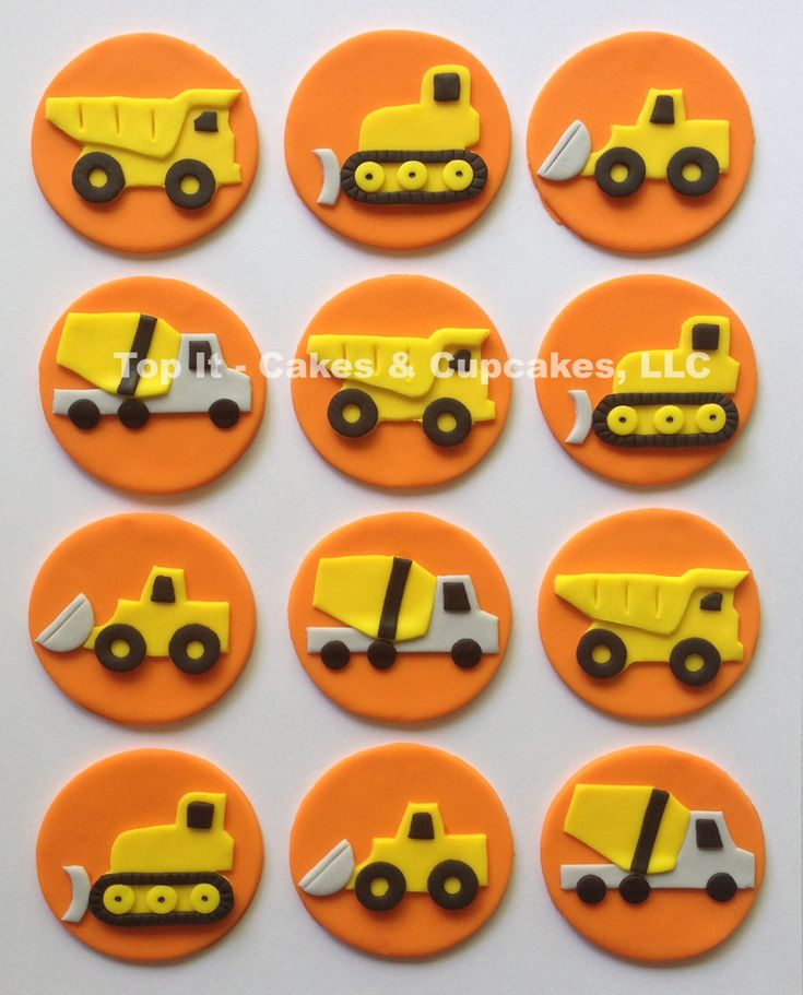 how to make a fondant truck topper