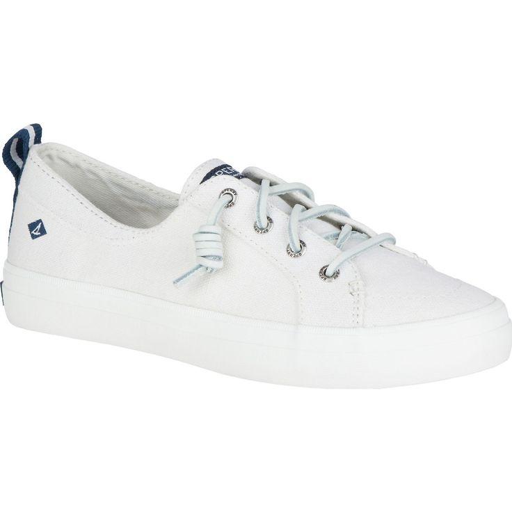 SPERRY Women's Crest Vibe Sneaker - Linen White. #sperry #shoes #