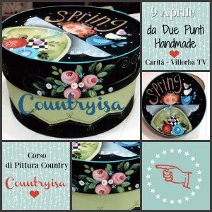 Country Painting - Scatola Spring - http://www.countryisa.com/evento/countrypainting-scatola-spring/