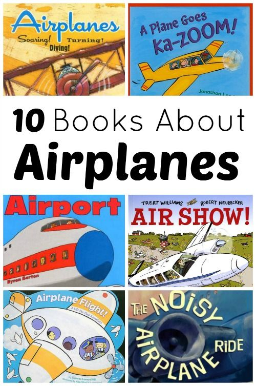 Books About Airplanes...great for airplane lovers and little ones getting ready for their first plane ride