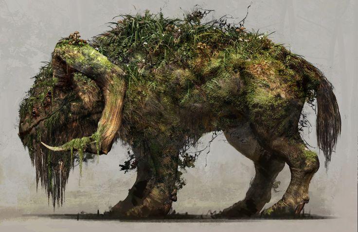 47 Ronin Chreature concept, Jason Horley on ArtStation at https://www.artstation.com/artwork/wyb6O