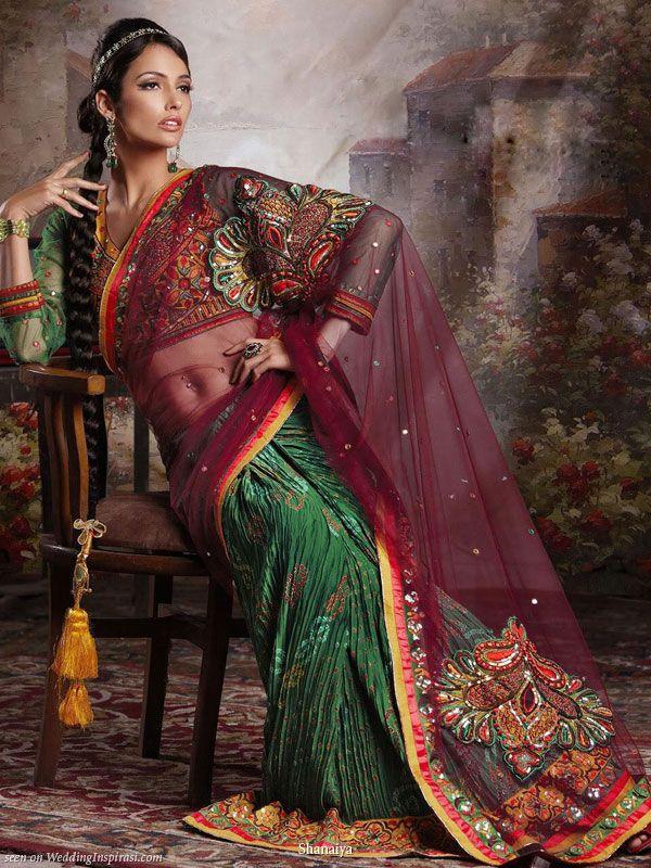 Shanaiya 2010 bridal collection #saree #sari #blouse #indian #hp #outfit  #shaadi #bridal #fashion #style #desi #designer #wedding #gorgeous #beautiful