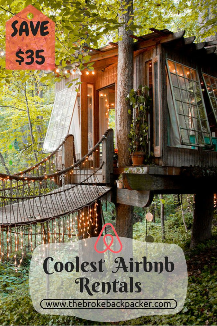 Stay at some of the World's coolest properties. Use the Airbnb coupon code and save $35 off your next adventure...