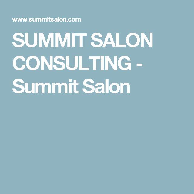 SUMMIT SALON CONSULTING - Summit Salon