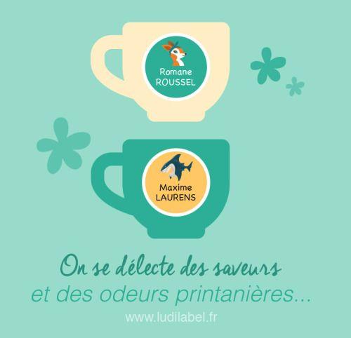 ... sur votre vaisselle ou sur le biberon de bébé... Découvrez nos étiquettes rondes : www.ludilabel.fr/etiquettes/autocollant-rond-personnalise