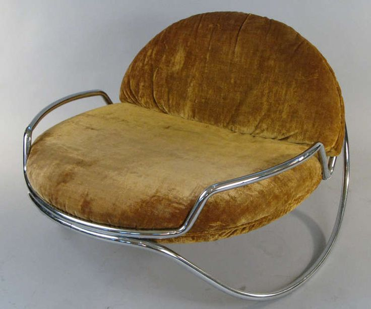 Modern 1960u0027s Chrome Rocking Chair By Selig. Modern Rocking ChairsFrench ...