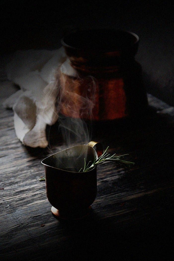 Oatgasm: Rosemary Fennel Tea for Remembering & Resolutions