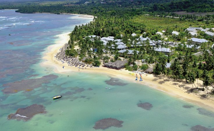 The hotel's beach, called El Portillo, is one of the most beautiful in Samaná, with its fine white sand, crystal clear turquoise sea...  More info: http://www.bahia-principe.com/en/hotels/samana/resort-el-portillo/