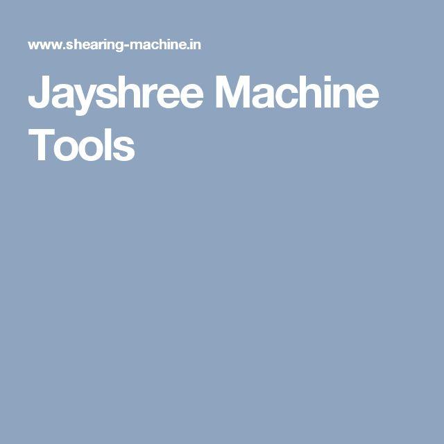Jayshree Machine Tools