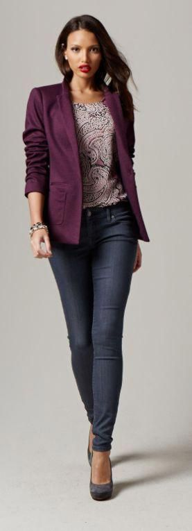 great office outfit ideas with blazer 30