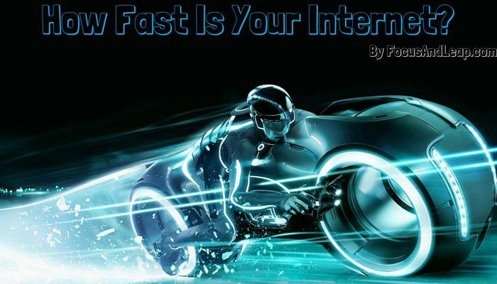 How fast is your internet? Lets do an internet speed test and find out how much speed we are getting, you can also put it on automatic test mode. http://www.focusandleap.com/internet-speed-test-websites-apps/