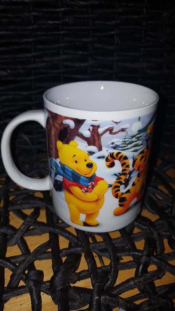 Check out this item in my Etsy shop https://www.etsy.com/ca/listing/564490222/winnie-the-pooh-christmas-coffee-mug