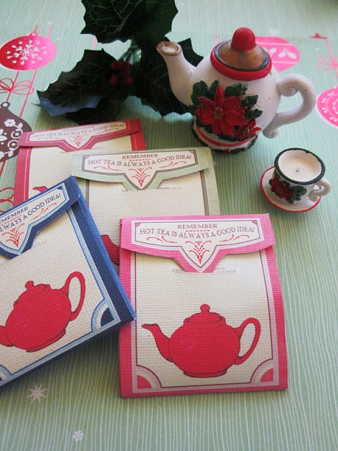 1000 Images About Tea Bag Gift Ideas On Pinterest