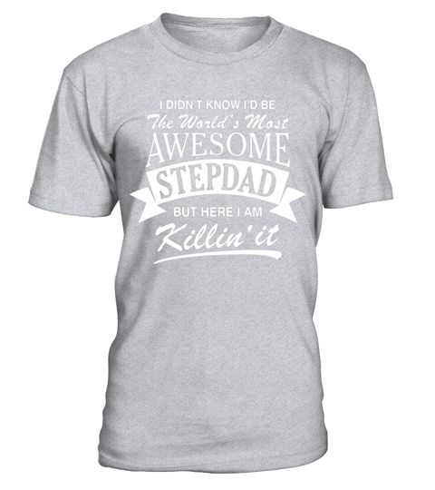 """# Men's World's Most Awesome Stepdad T-Shirt .  Special Offer, not available in shops      Comes in a variety of styles and colours      Buy yours now before it is too late!      Secured payment via Visa / Mastercard / Amex / PayPal      How to place an order            Choose the model from the drop-down menu      Click on """"Buy it now""""      Choose the size and the quantity      Add your delivery address and bank details      And that's it!      Tags: """"I didn't know I'd be the world's most…"""