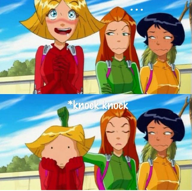 Haha clover totally spies pinterest totally spies - Clover totally spies ...