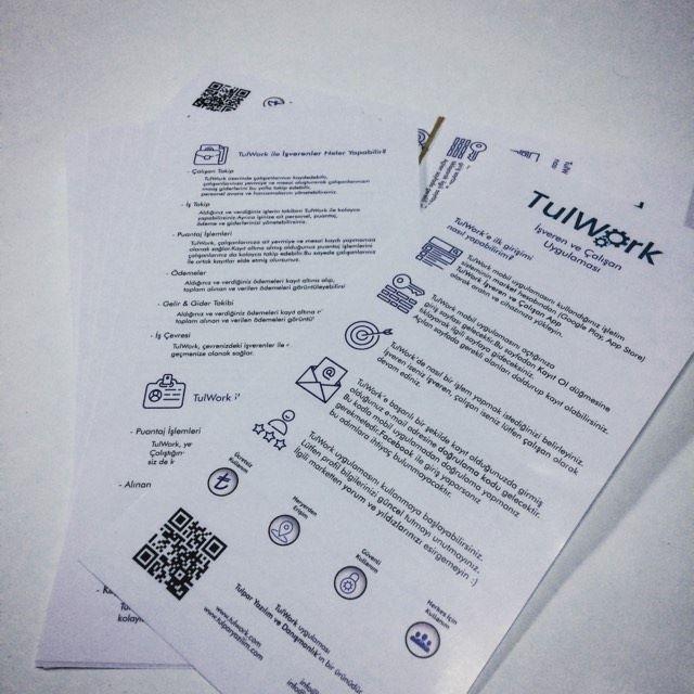 TulWork; işveren ve çalışan uygulaması. www.tulwork.com #yevmiye #puantaj #gelir-gider #alınanveverilenişler #tulwork #tulparyazilim #mobileapps #goodapp