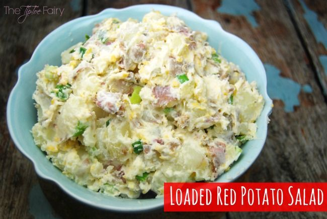 #AD: Perfect Picnic Food with @Walmart Deli Fried Chicken & Loaded Red Potato Salad - get the recipe! #SummerYum   The TipToe Fairy