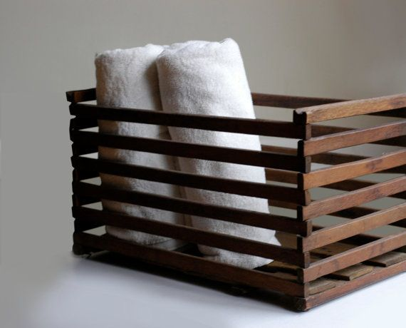 Great storage for office or home: magazines, books, rolled bath towels...endless possibilities.