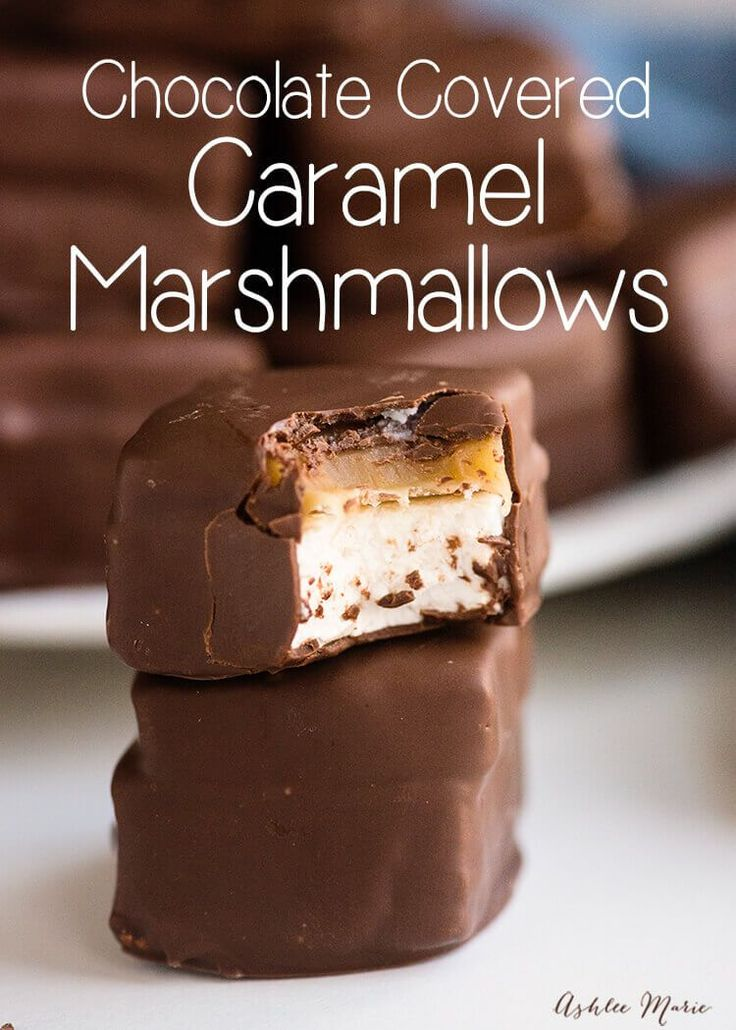 easy to make and delicious this caramel marshmallow recipe has a video tutorial too. Perfect Easter / Spring Treat.