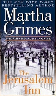 """My review of """"The Jerusalem Inn"""" by Martha Grimes."""